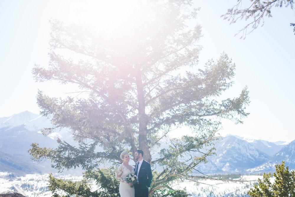 sunny spring elopement near breckenridge, colorado | keeping composure photography