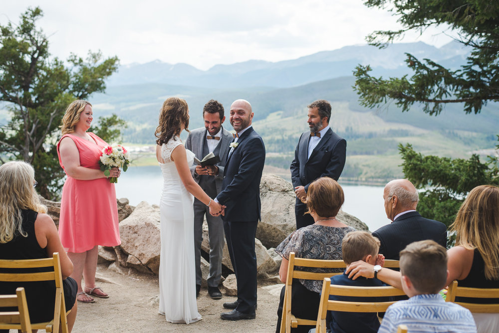 sapphire point intimate wedding near breckenridge, colorado | keeping composure photography