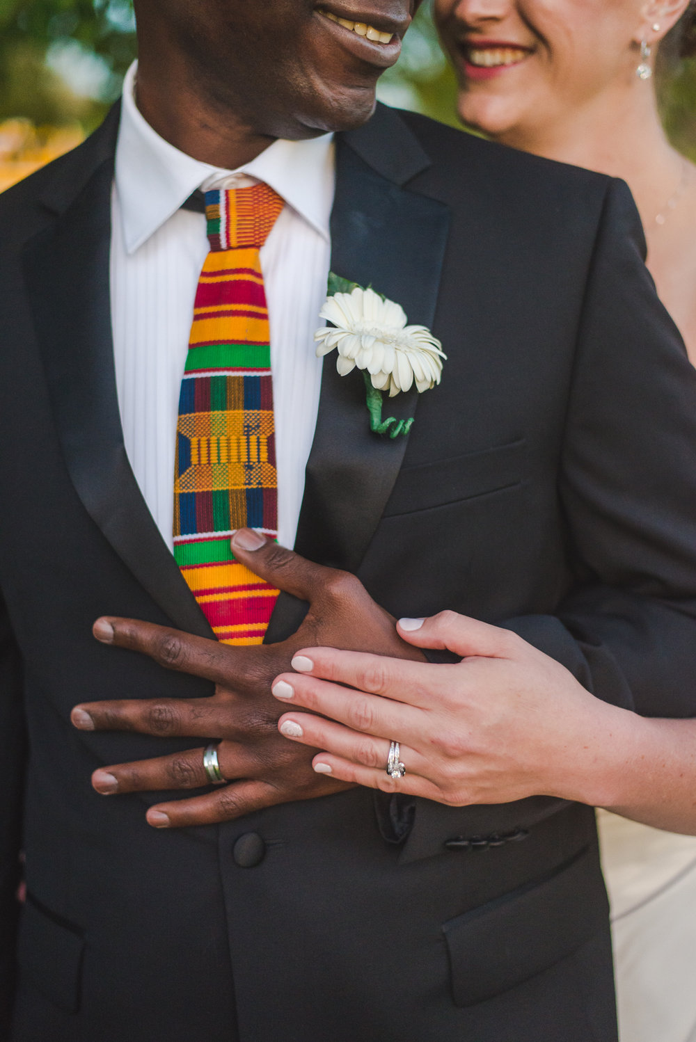 multi-racial bride and groom | lakewood, colorado intimate wedding | keeping composure photography
