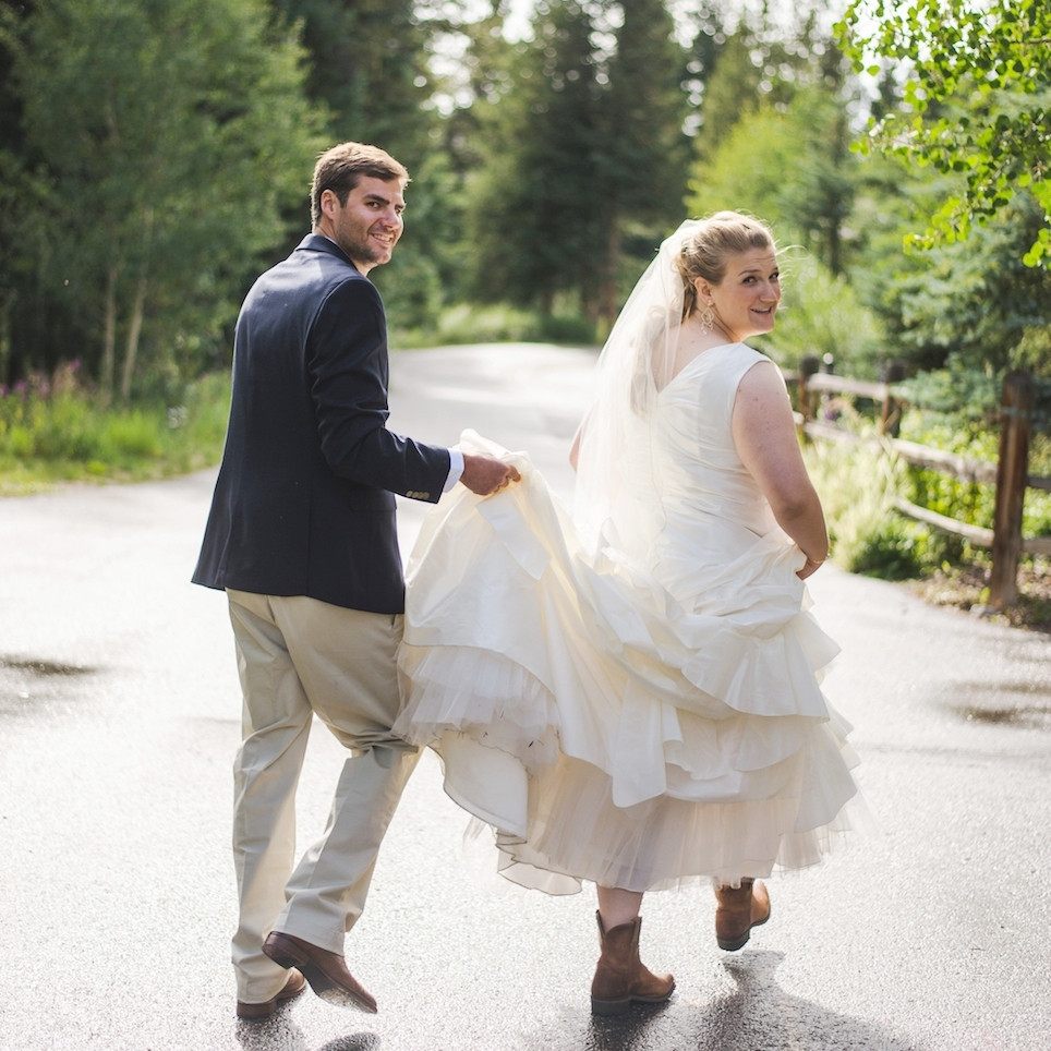 copper mountain summer wedding colorado