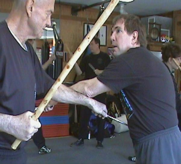 Training with Sifu Larry Hartsell