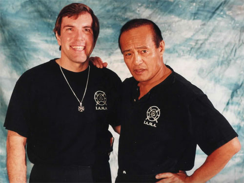 Sifu Keith Wetoskey with Guro Dan Inosanto