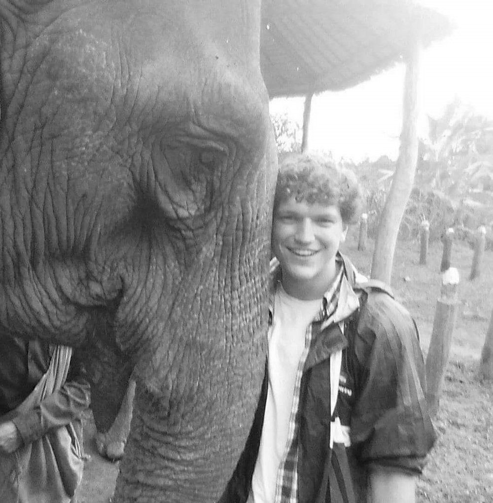 Elephant (left) and Brendan (right)
