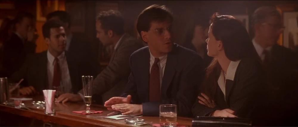 """Man in Bar"" potrayed by Aaron Sorkin himself."