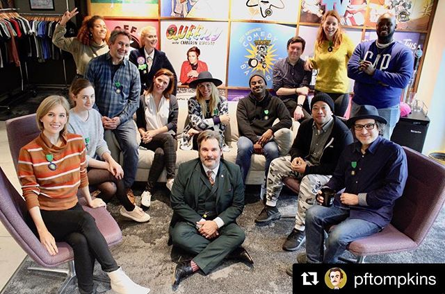 #Repost @pftompkins with @get_repost ・・・ Ep 200 of Spontaneanation has EVERYBODY.  Thank you to everyone who ever guested on, improvised on, produced or listened to this show.  It means a lot.  Listen where you listen!