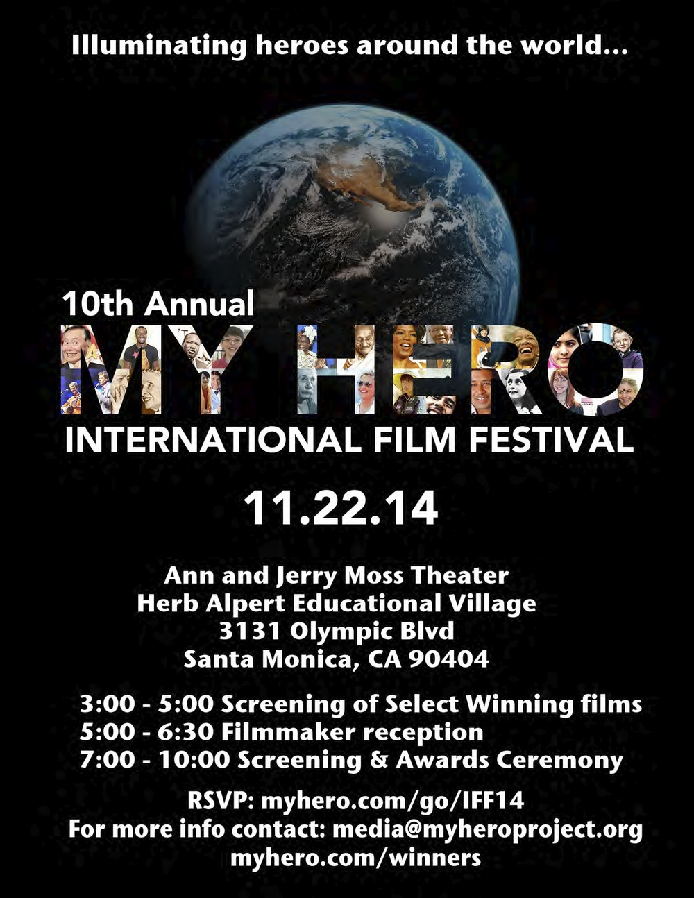 "My film, ""The Waiting Game"", has won Fourth Place Narrative in the High School Section of the MY HERO International Film Festival! If any of you guys live in LA, try to check it out :)"