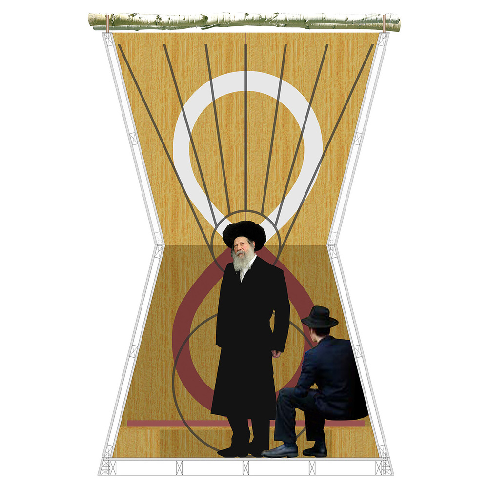 Kabbalic Sukkah Design design competition, New York