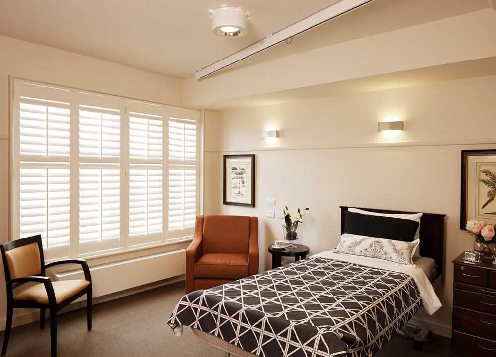 Nursing Home Bedroom