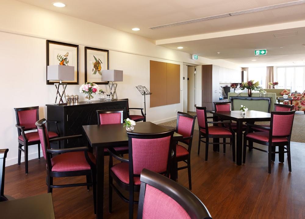 Nursing Home Dining Room