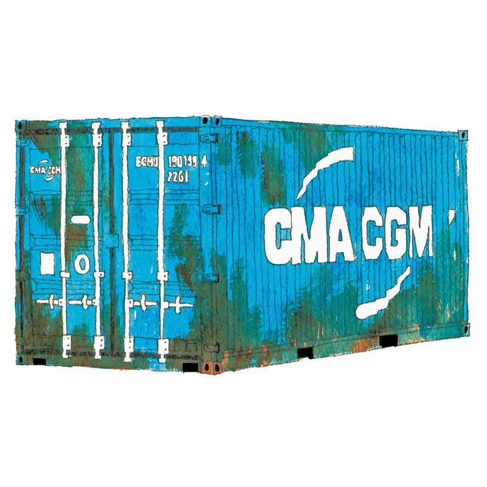 CMA CGM Shipping Container   issue 19 2016