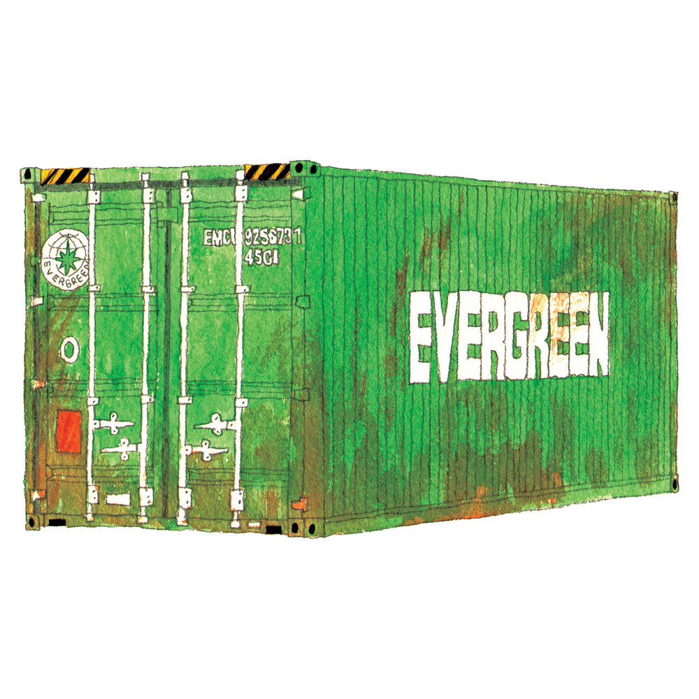 Evergreen Shipping Container   issue 19 2016
