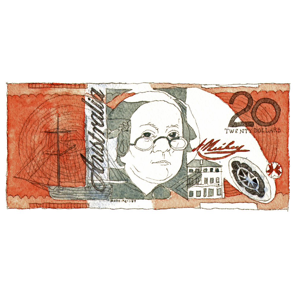 Australian Twenty Dollar Note  issue 16 2015