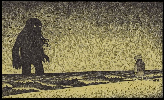 pushart: haikyo: John Kenn | Cgunit - Online Gallery I think this might just be favourite piece by John ever!