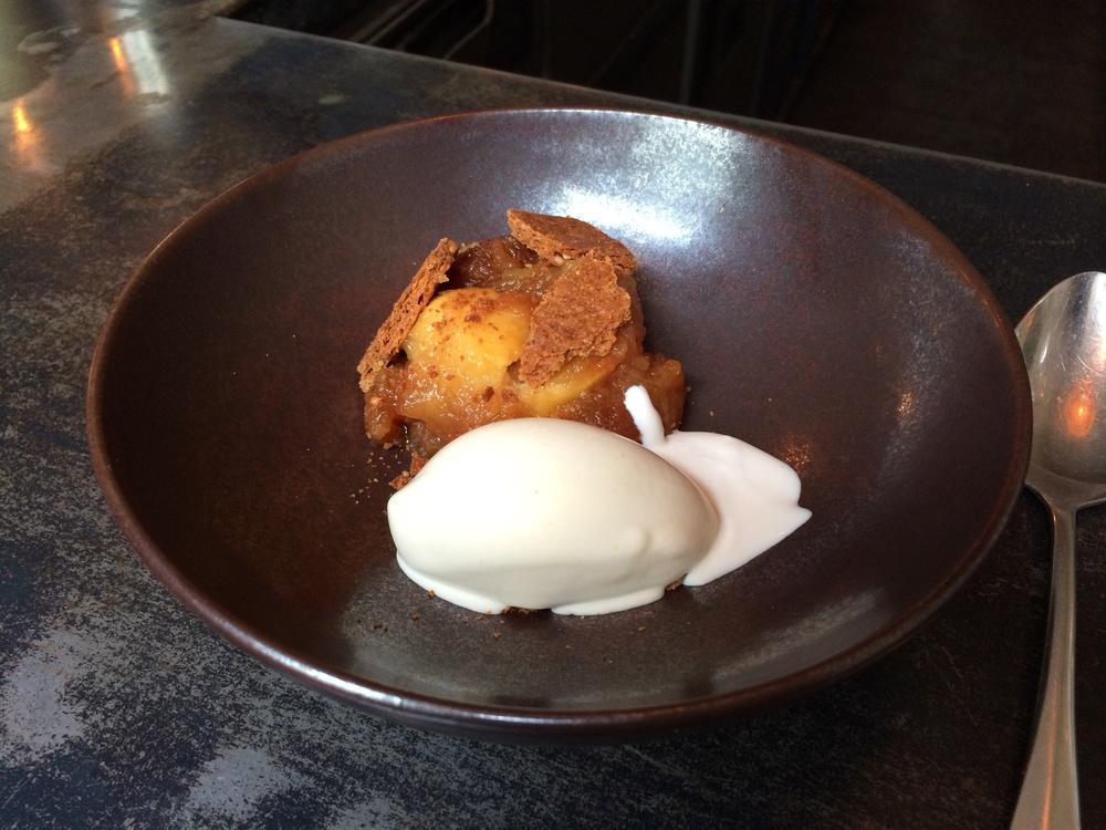 Dessert: Apple concoction