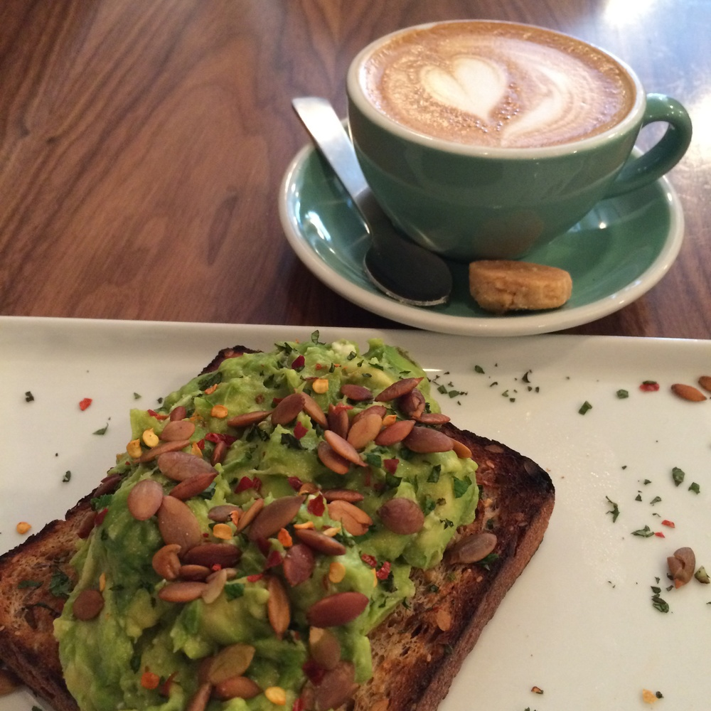 My Brekkie: The smash with Cappuccino