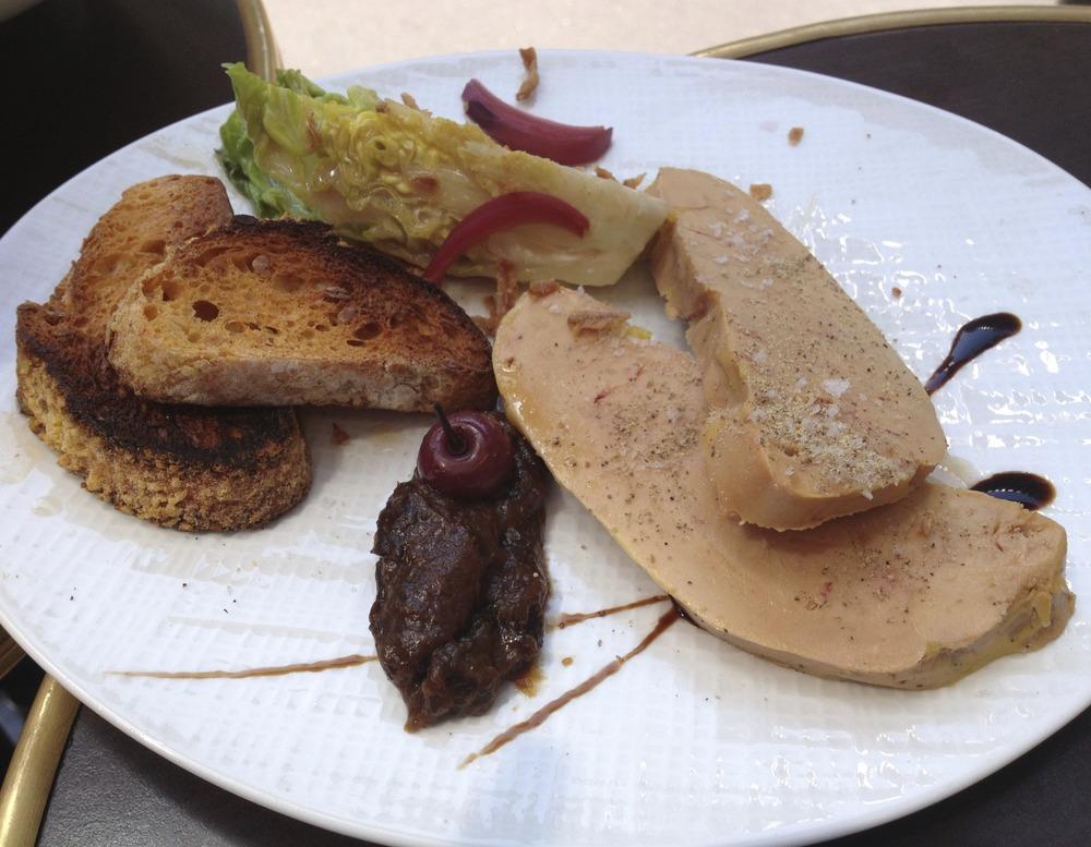 Toast de foie gras de canard des Landes de Sandrine Paris