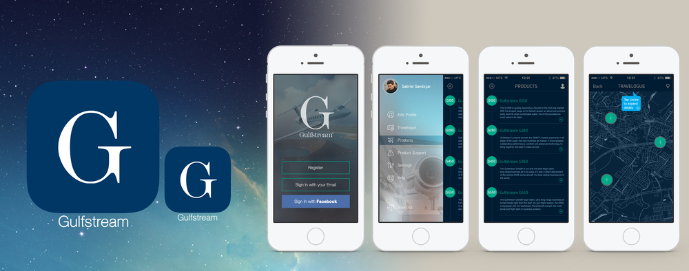 Gulfstream App Mock-Up