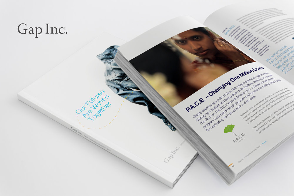 Gap Inc. Global Sustainability Report |    VIEW FULL PROJECT