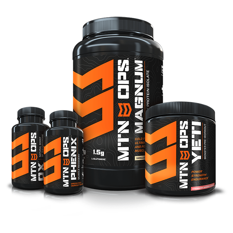 MTN OPS Package -   Conquer Strength or Conquer Weightloss up to $154.80 value