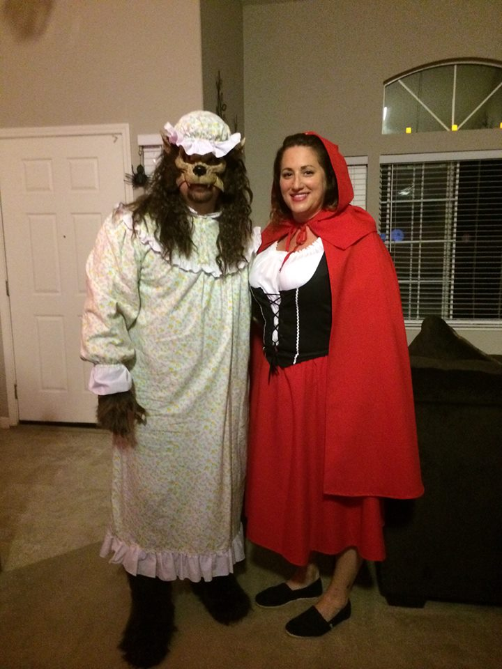 Red Riding Hood and The Wolf 2014.jpg