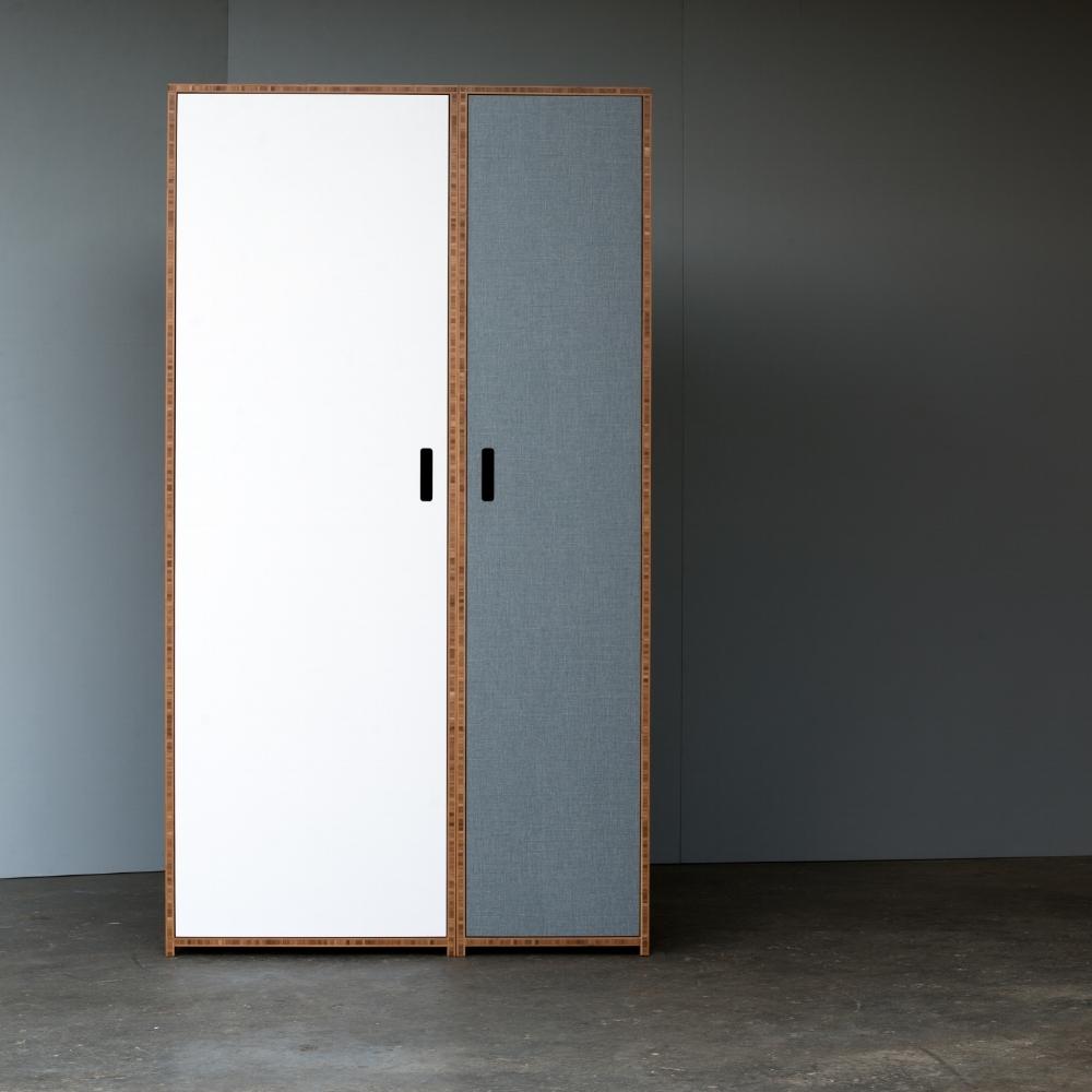 Free standing wardrobe White W1804 W1806 Wardrobes Shoreditch Furniture Designers Plywood Furniture Nz Freestanding Wardrobe Designer Pieces