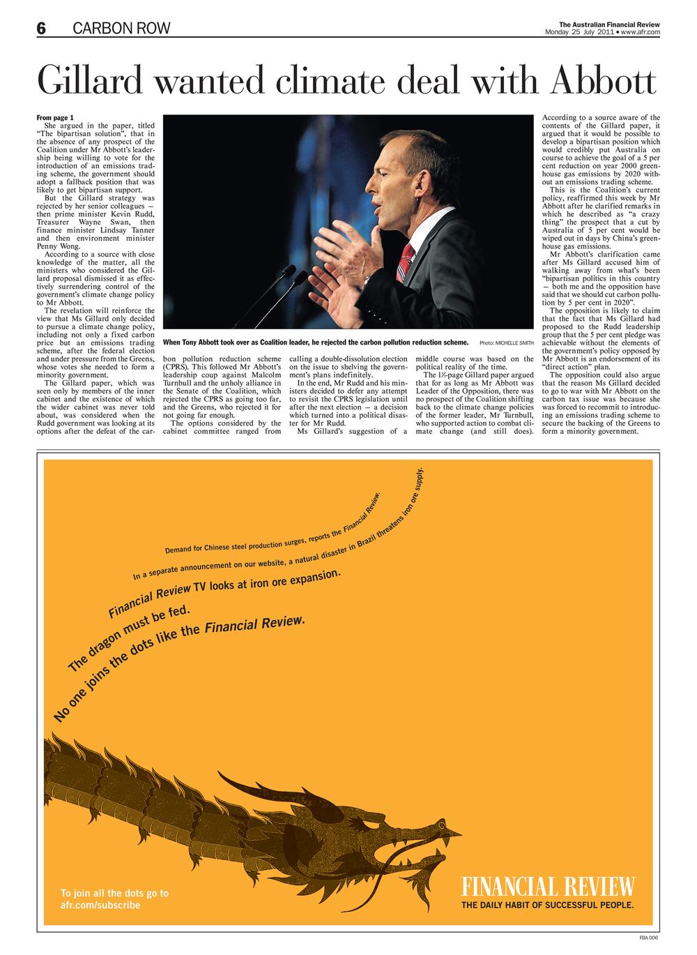 Coalition leader Tony Abbott.