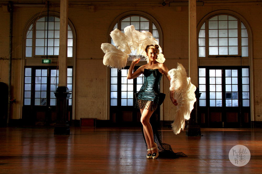 Brisbane Times journalist Katherine Feeney discovers the beauty of Burlesque.