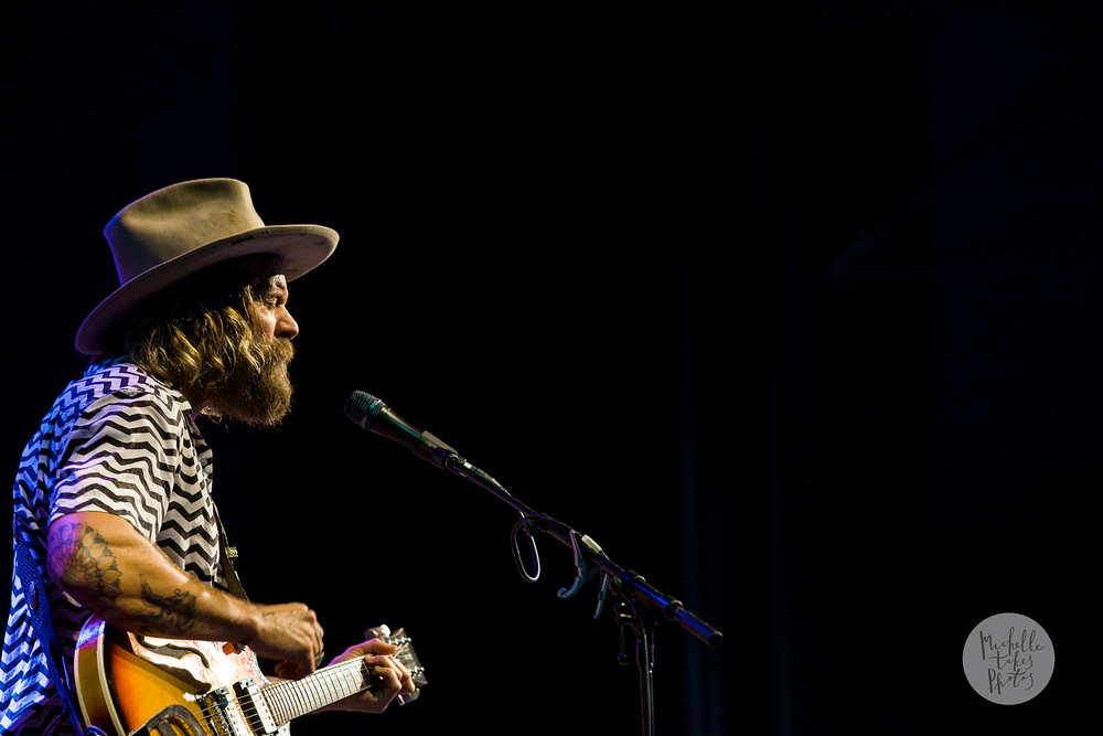 Donavon Frankenreiter plays at the 2015 Bluesfest at Byron Bay.