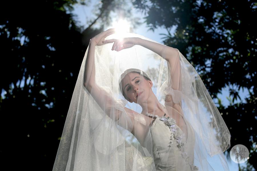 """Australian Ballet dancer Corey Herbert, 20, will perform in the romantic """"Giselle"""" in the Brisbane Botanic Gardens."""