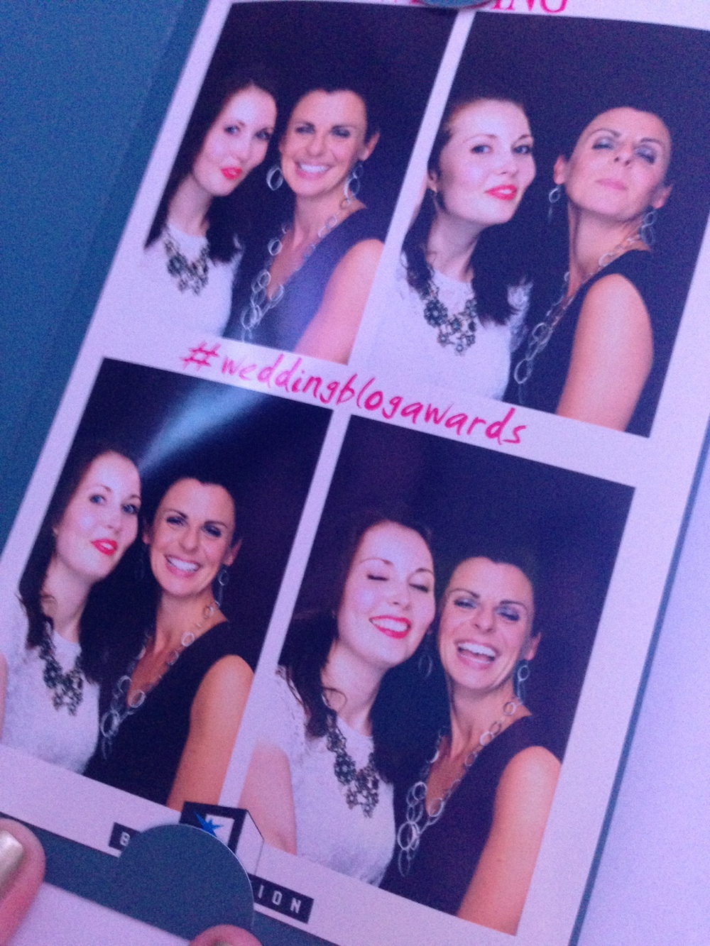 So Caoimhe and I just had to get in on the photobooth action...