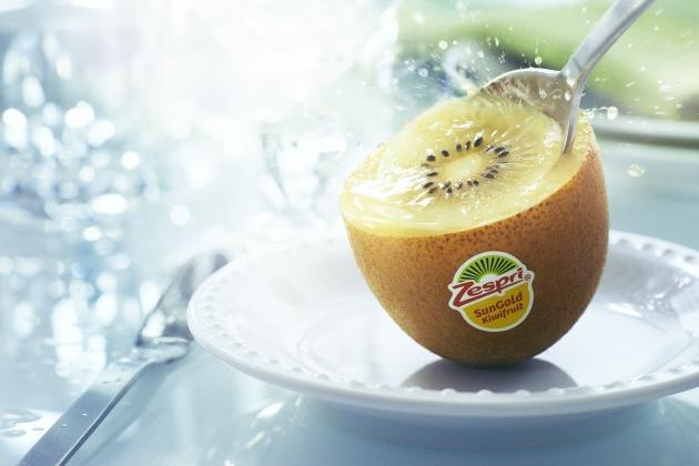 Juicy, sweet, creamy Sungold Kiwifruit