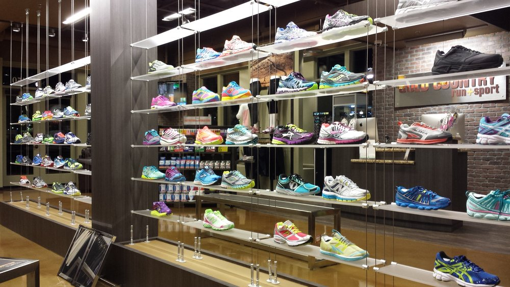 Gold Country Shoe Wall