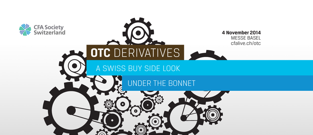Attend this conference to gain practical and actionable insights on how to implement derivative strategies in the Swiss buy side context (e.g. for insurance, pension funds, asset managers, corporations)in the light of the new regulatory environment. Learn what changes are most relevant for your business. Areas of focus include collateral management and safety and achieving cost efficiency.
