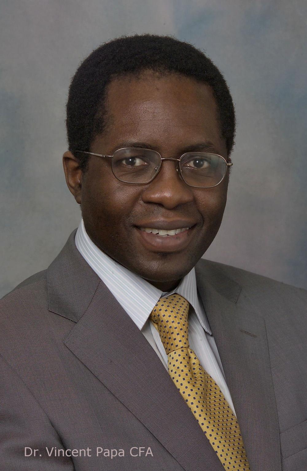 Dr. Vincent Papa CFA