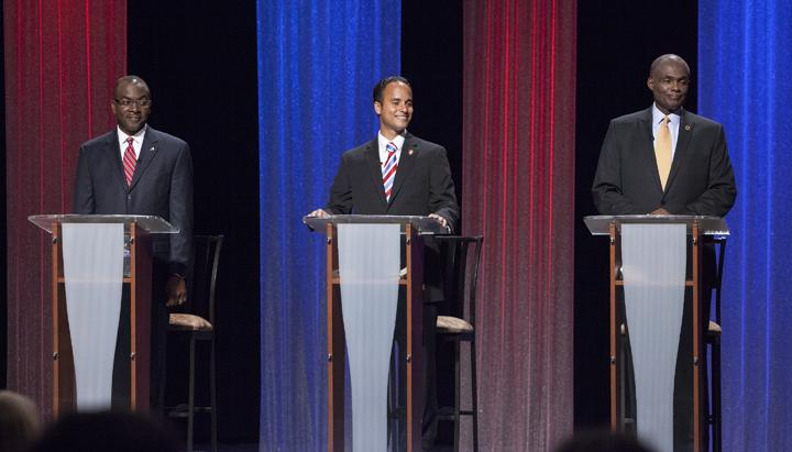 """Bright and engaging, he stole the three-way primary season debates.""  - The Buffalo New"