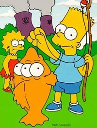 The Simpsons by Matt Groening.
