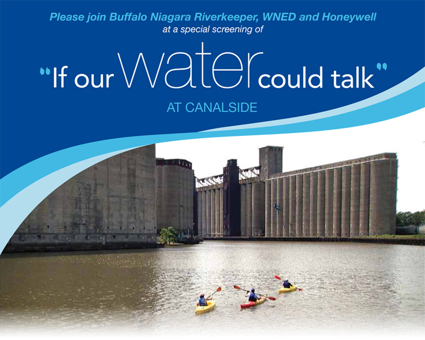 "Special screening of  ""If Our Water Could Talk"" at Canalside"
