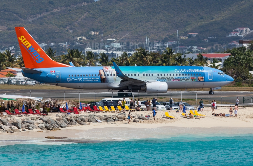 Beginning January, Sunwing Airlines is sending passengers to Cancun and Punta Cana out of the Buffalo Niagara International Airport.
