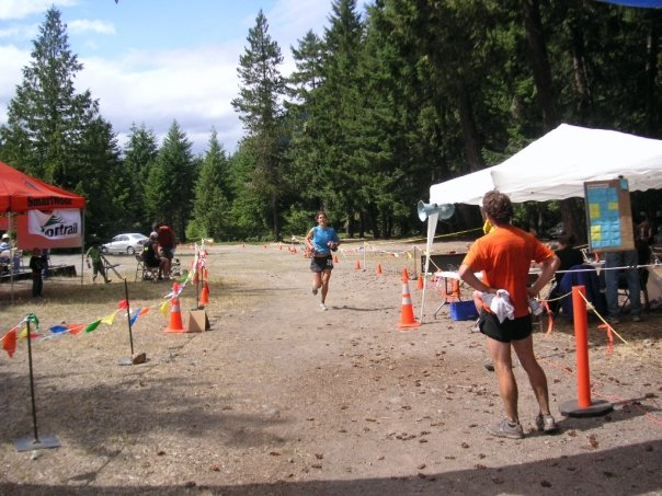 Finishing White River in 2008