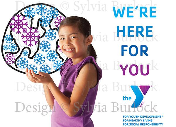YMCA Winter Season Card Design