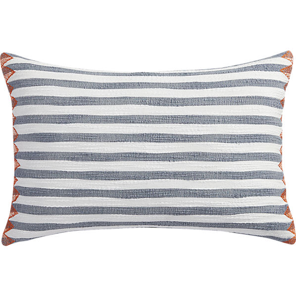 Marine Layer Pillow by Piano Nobile for CB2