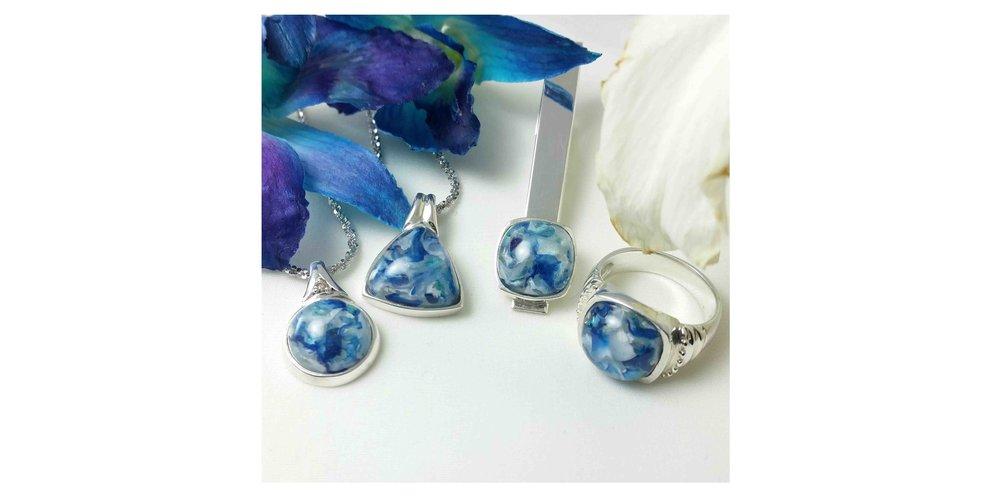 PetalGems® Flower Petal Jewelry -