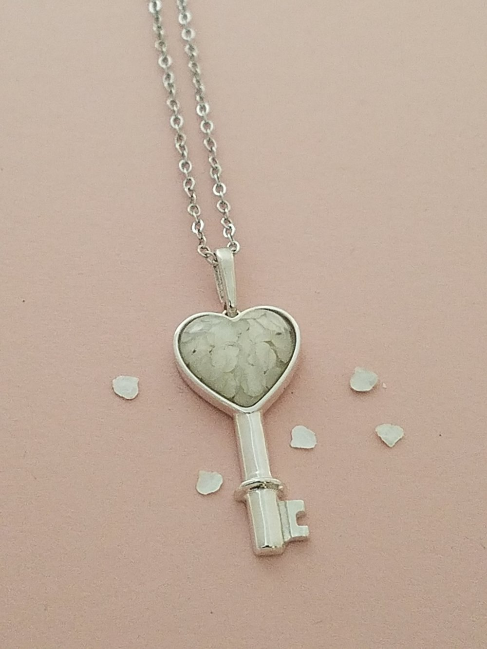 Key To My Heart PetalGems® Necklace -