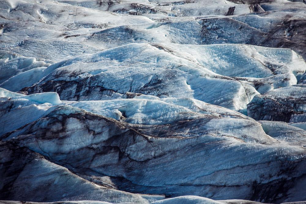 Gletscher bei Skaftafell © Sebastian Doerk I infinitetrails