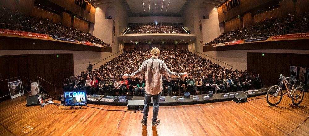 FLOW im ausverkauften Konzertsaal bei der Mundologia 2017