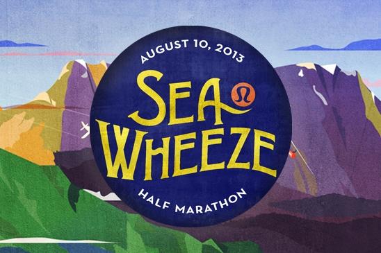 SeaWheeze Half Marathon Branding