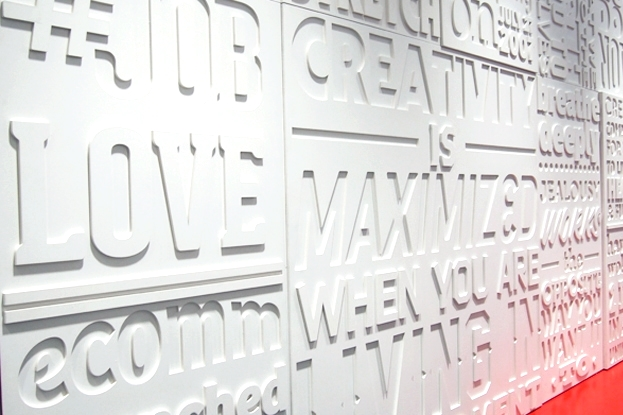 Monochrome Type Wall