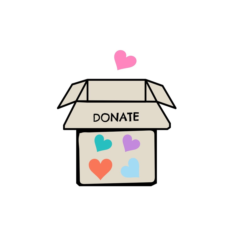 Material donation -