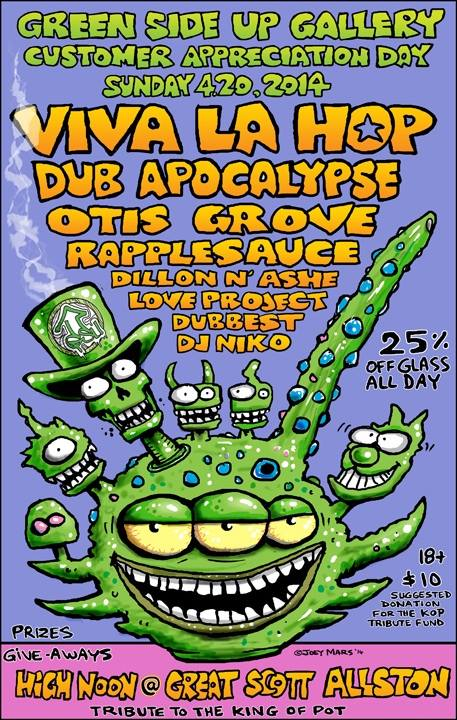 Great Scott // Allston, MA with Viva La Hop, Dub Apocalypse, Rapplesauce, & Otis Grove