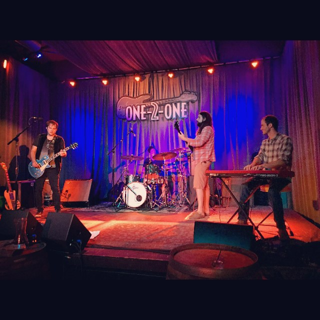 #tbt our show in #Austintexas back in May at @one2onebar #live #music #rocknroll #DNA